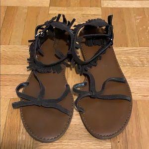 American Eagle Suede sandals